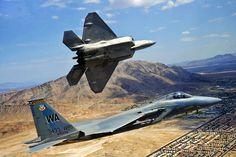 Fighter F-15 eagle