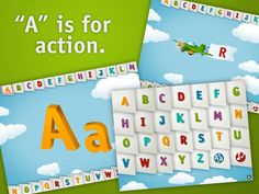 """AlphaTots uses action-based verbs that encourage young minds to """"do"""" as they learn."""