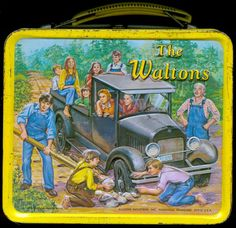 33 Vintage Lunch Boxes That Will Make You Want To Be A Kid Again - vintagetopia Retro Lunch Boxes, Lunch Box Thermos, Tin Lunch Boxes, Metal Lunch Box, Retro Toys, Vintage Toys, Vintage Metal, Wonder Woman Lunch Box, The Waltons Tv Show