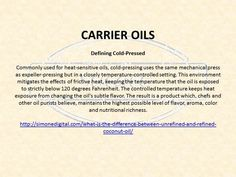 Carrier Oil FAQ