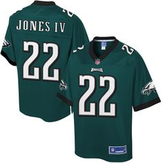 Sidney Jones Philadelphia Eagles NFL Pro Line Youth Player Jersey - Midnight Green