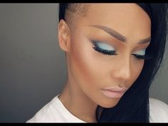 START TO FINISH SEXY & COLOURFUL GLAM MAKEUP TUTORIAL - SONJDRADELUXE ♥