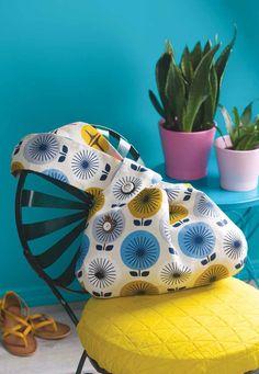 Laurel Canyon Bag PDF Sewing Pattern by Michelle Freedman Bag Patterns To Sew, Pdf Sewing Patterns, Sewing Tutorials, Quilt Patterns, Sewing Ideas, Knitting Projects, Sewing Projects, Diy Projects, Japanese Knot Bag