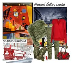 """London"" by marionmeyer on Polyvore featuring Mode, Alice + Olivia, Aquazzura, Velvet by Graham & Spencer, Dooney & Bourke, Ray-Ban, Givenchy, Anne Sisteron, travel und art"