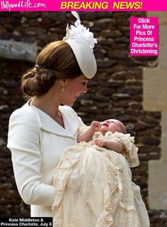 Princess Charlotte: Royal Baby Christened In Gorgeous Ceremony —Pics