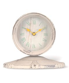 Look at this Daisy Tabletop Clock on #zulily today!