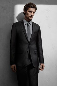 Suit up for Spring with contoured lines and a defined fit. #mycalvins