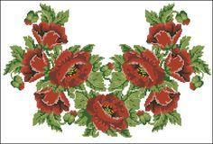 Gallery.ru / Фото #179 - схемы для вышиванок - zhivushaya
