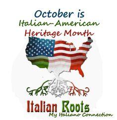 October is Italian-American Heritage Month