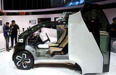 NeuV da Honda é exibido na CES (Foto: Steve Marcus/Reuters)