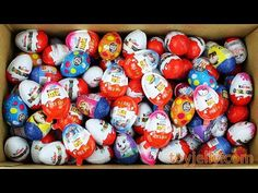 New Surprise Eggs Super Kinder Joy for Boys & Girls Unboxing Learn Colors Play Doh Toys For Kids - YouTube