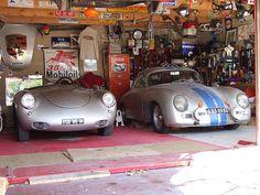 550 Spyder y 356 Hans de Nooy likes Porsche