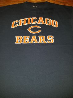 79a75b7fe Details about Chicago Bears 2006 NFC North Champions NFL Football T Shirt  Size XL