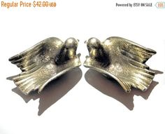 SALE pigeons brass ashtray1970'smade in by VintageAnd4All on Etsy