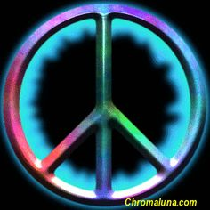Cool Peace Signs | Another symbols image: (peacesymbol) for MySpace from ChromaLuna