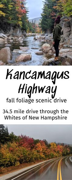 Everything you need to know about New England's best Scenic Drive for Fall Foliage New England Fall, New England Travel, Waterville Valley, White Mountain National Forest, Fall Vacations, East Coast Travel, Winter Camping, Picnic Area, New Hampshire
