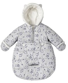 London Fog Newborn Infant Baby Girl Boy Puffer Carbag Pram Bag Snowsuit Bunting Grey 06 Months ** You can get additional details at the image link. (This is an affiliate link) Twin Girls Outfits, Baby Outfits Newborn, Baby Boy Newborn, Baby Boy Outfits, Baby Girls, Winter Baby Clothes, Baby Winter, Baby Girl Snowsuit, Baby In Snow