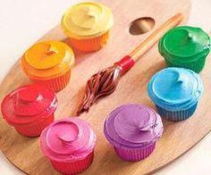 Cool cupcake idea.