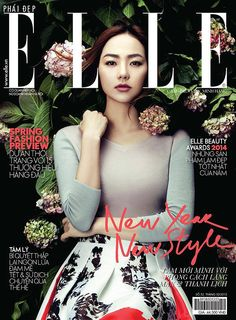 Elle Vietnam: Minh Hang on Behance