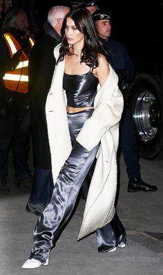 We are loving this look on Bella Hadid.