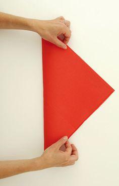Pliage de serviette Avion en papier, Pliage de serviette - Loisirs créatifs
