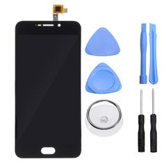 LCD Display+Touch Screen Digitizer Assembly Replacement With Tools For UMI Plus E