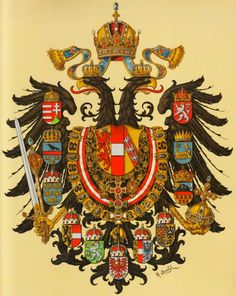 Almanach de Saxe Gotha - Imperial and Royal House of Habsburg-Lorraine: Empire of Austria-Hungary - Österreich-Ungarn - Ho. Imperial Eagle, Austrian Empire, Holy Roman Empire, Landsknecht, Austro Hungarian, Chivalry, Knights Templar, Family Crest, Crests