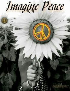 ☮ American Hippie ☮ Imagine Peace Sign