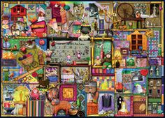Colin Thompson - The Craft Cupboard, 1000pc | Adult Puzzles | Puzzles | Products | UK | ravensburger.com