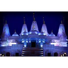 BAPS Temple in Lilburn, Ga (Photographer: Stacy Murdock) Hindu Temple, Georgia, Religion, United States, Travel, India, Beautiful, Places, Viajes