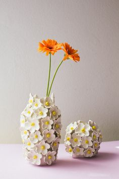 Glass Ceramic, Ceramic Clay, Ceramic Pottery, Vase Crafts, Clay Crafts, Diy And Crafts, Polymer Clay Animals, Tall Vases, Ceramic Design