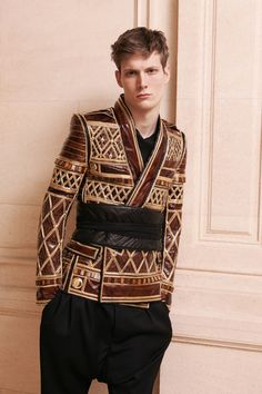 Balmain Fall 2013 Menswear Collection Slideshow on Style.com