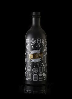 For The 'Mad Men': A Bottle Of Rum Inspired By The Golden Age Of Advertising - DesignTAXI.com