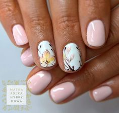 The Best Nail Art Designs – Your Beautiful Nails Cute Spring Nails, Spring Nail Art, Cute Nails, Pretty Nails, Pink Nails, My Nails, Nails Inc, Nail Art Designs, Hawaii Nails