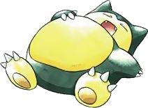 Snorlax from Pokemon. <3