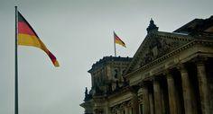 Bandeira alemã no Bundestag