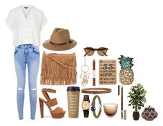 """Brown Heartbeat"" by tiffcso on Polyvore"