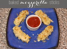 ingredients: 4 mozzarella string cheese sticks, halved 1/4 cup milk 1/2 cup Panko breadcrumbs 3 tsp Italian seasoning marinara sauce, for dipping
