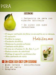 Beneficios de la pera! Qué rico!