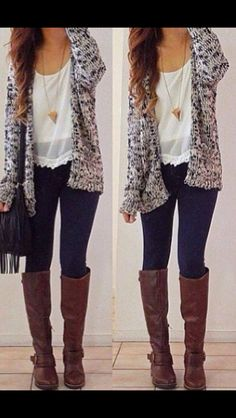 Great lazy but cute outfit