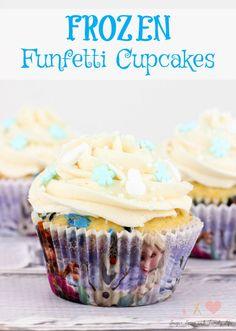 FROZEN Funfetti Cupcakes Recipe