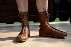 Replikat römischer Schuhe aus Vindolanda - gefertigt von Meister Knieriem