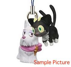 Ao no Blue Exorcist Mephisto Dog Kuro Cat Mascot Figure Strap JAPAN ANIME MANGA
