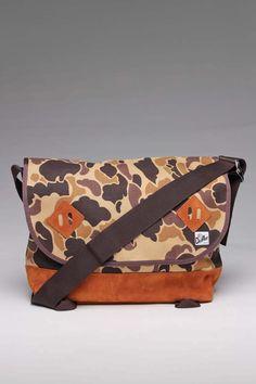 Drifter Bags WWII Autumn Camo Town Messenger