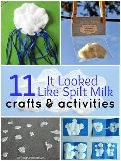 11 it looked like spilt milk activities for kids