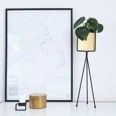 @ scandifan have done some awesome styling, where our Top candle holder takes part _______________________________Copenhagen Map in our livingroom. The perfect way of getting the vibe. #WOUDdesign #cphlove #Candleholder #Candles #Accessories