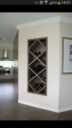 Love this wine rack