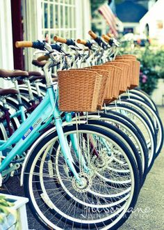 Baskets and bikes