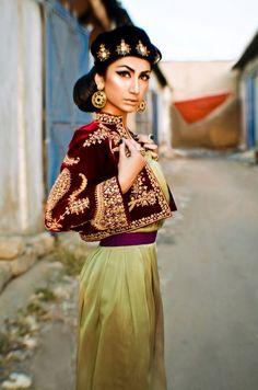 Jacket With Dhoti Pants: Intricate Dori Embroidery mail taraanacouture@gmail.com