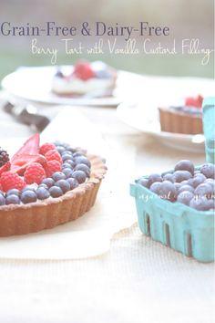 Paleo berry tart #wholefoods #realfoods #glutenfree